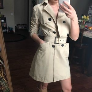Max & Co Trench Coat nude